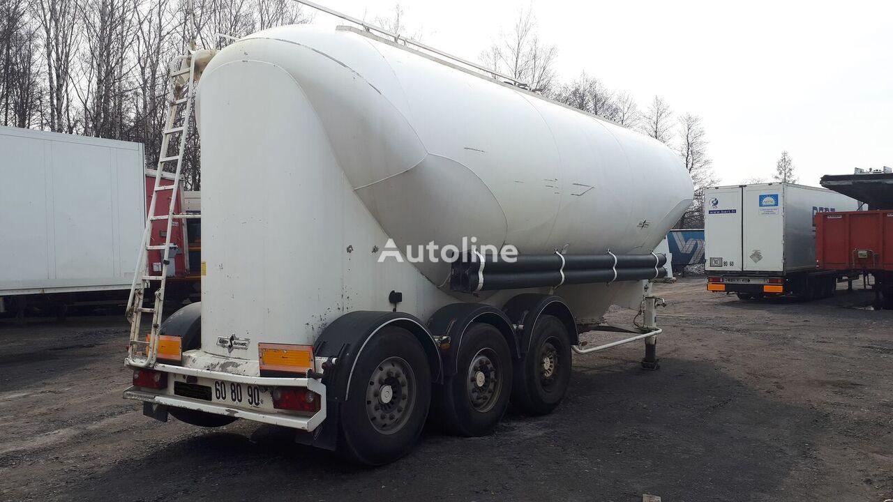 SPITZER Eurovrac SF 2437      37m3 cement tank trailer
