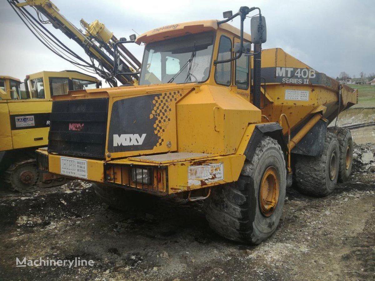 MOXY MT 40B articulated dump truck