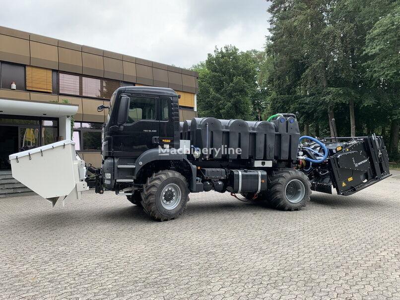 new WIRTGEN WS250 asphalt milling machine