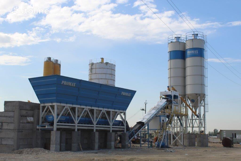 new PROMAX Compact Concrete Batching Plant PROMAX C100-TWN-LINE (100m/h) concrete plant