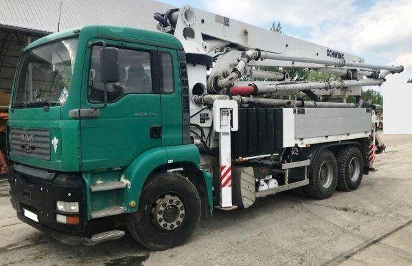 Schwing KVM 34X on chassis MAN 6x4 +34m Schwing 90m3/h concrete pump