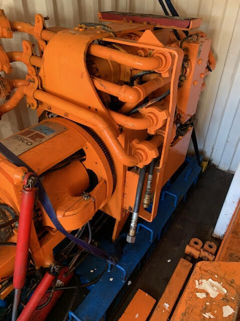Tesco Top Drive drilling rig