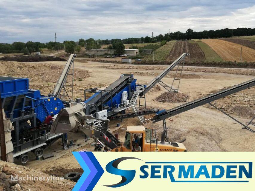 new SERMADEN MPCS 1410 MOBILE IMPACT CRUSHING SCREENING PLANT mobile crushing plant