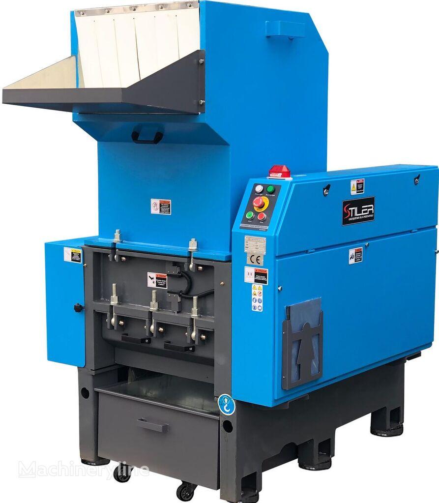 STILER MŁYN DO PLASTIKU 15 KW, PLASTIC CRUSHER SHREDDER  other recycling machinery