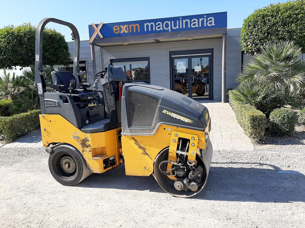 BOMAG 100AC-5 MIXTO road roller