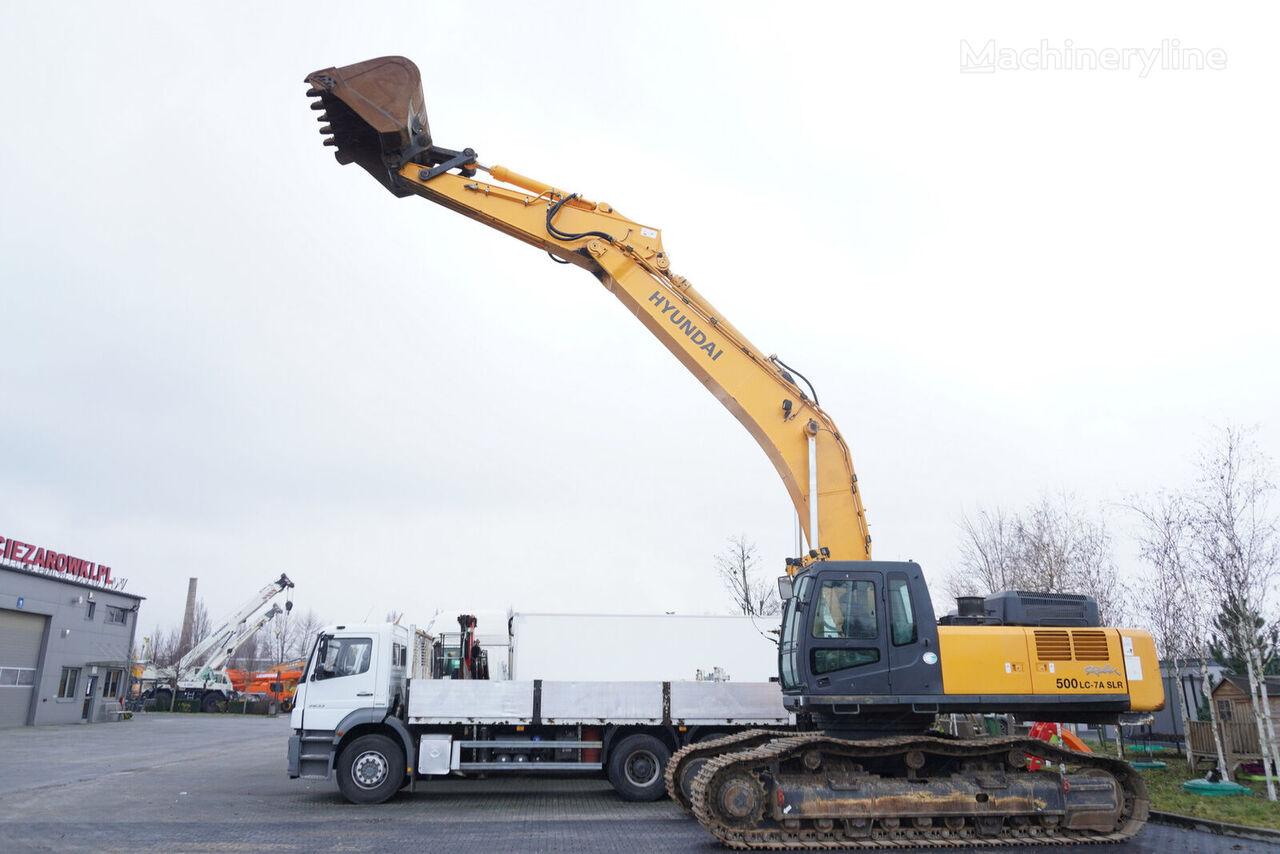 HYUNDAI ROBEX 500LC-7A SLR , 49T , LONG REACH 22M  , bucket 2,5m3 + ARM  tracked excavator