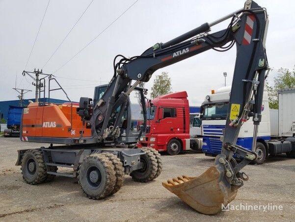 ATLAS 160W , 3 x boom arm , 3 buckets set , 2018 ,2000MTH like NEW !  wheel excavator