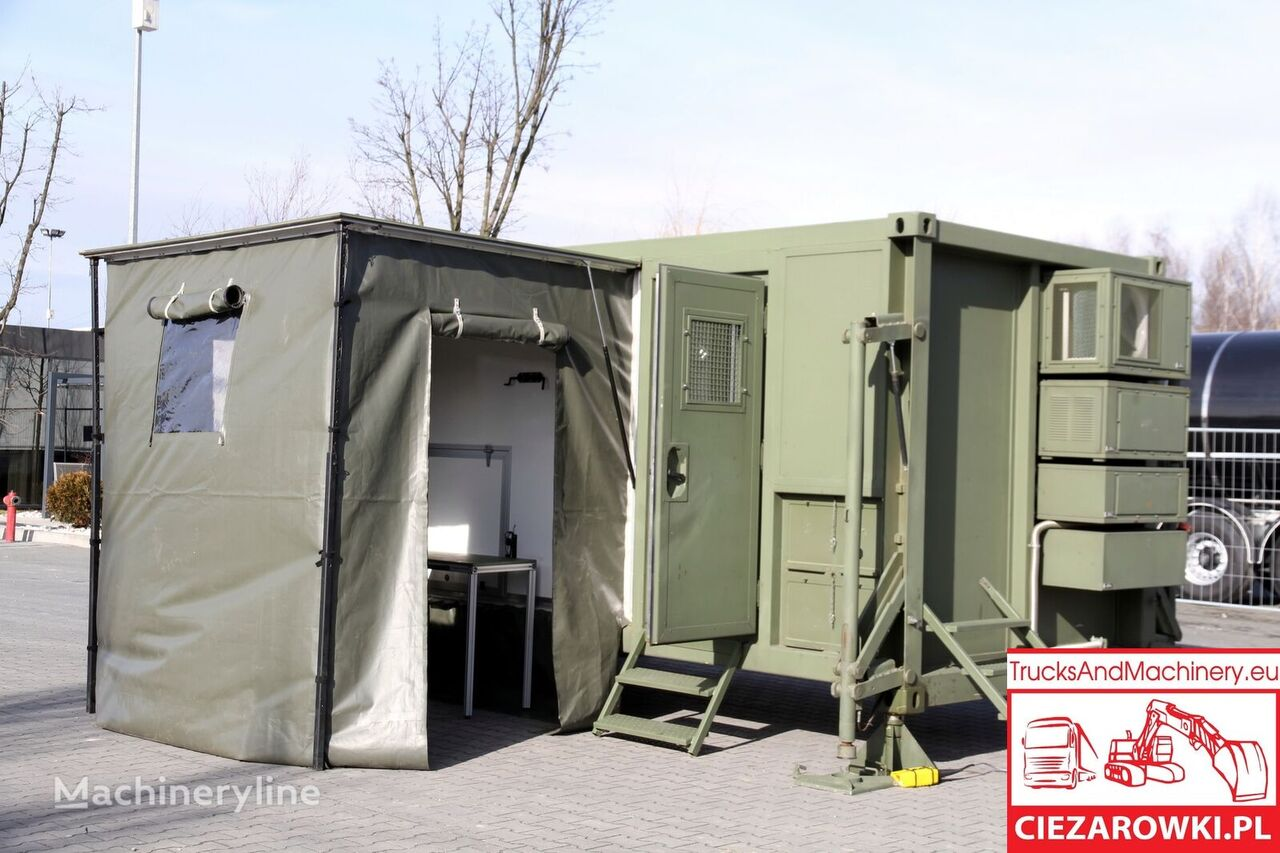 ARMPOL / Military container body / UNUSED office container