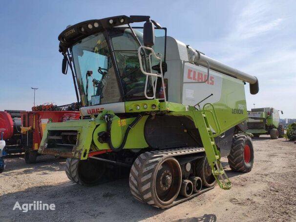 CLAAS Lexion 750 Terra Trac z Hederem typ V750 grain harvester