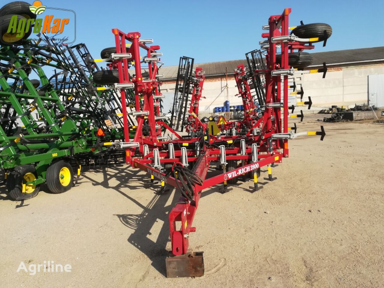 WIL-RICH 2800 8 metrov №362 stubble cultivator