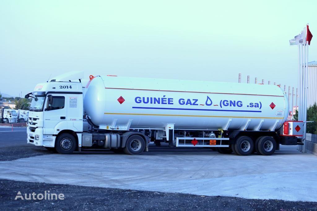 new YILTEKS LPG SEMI-TRAILER gas tank trailer