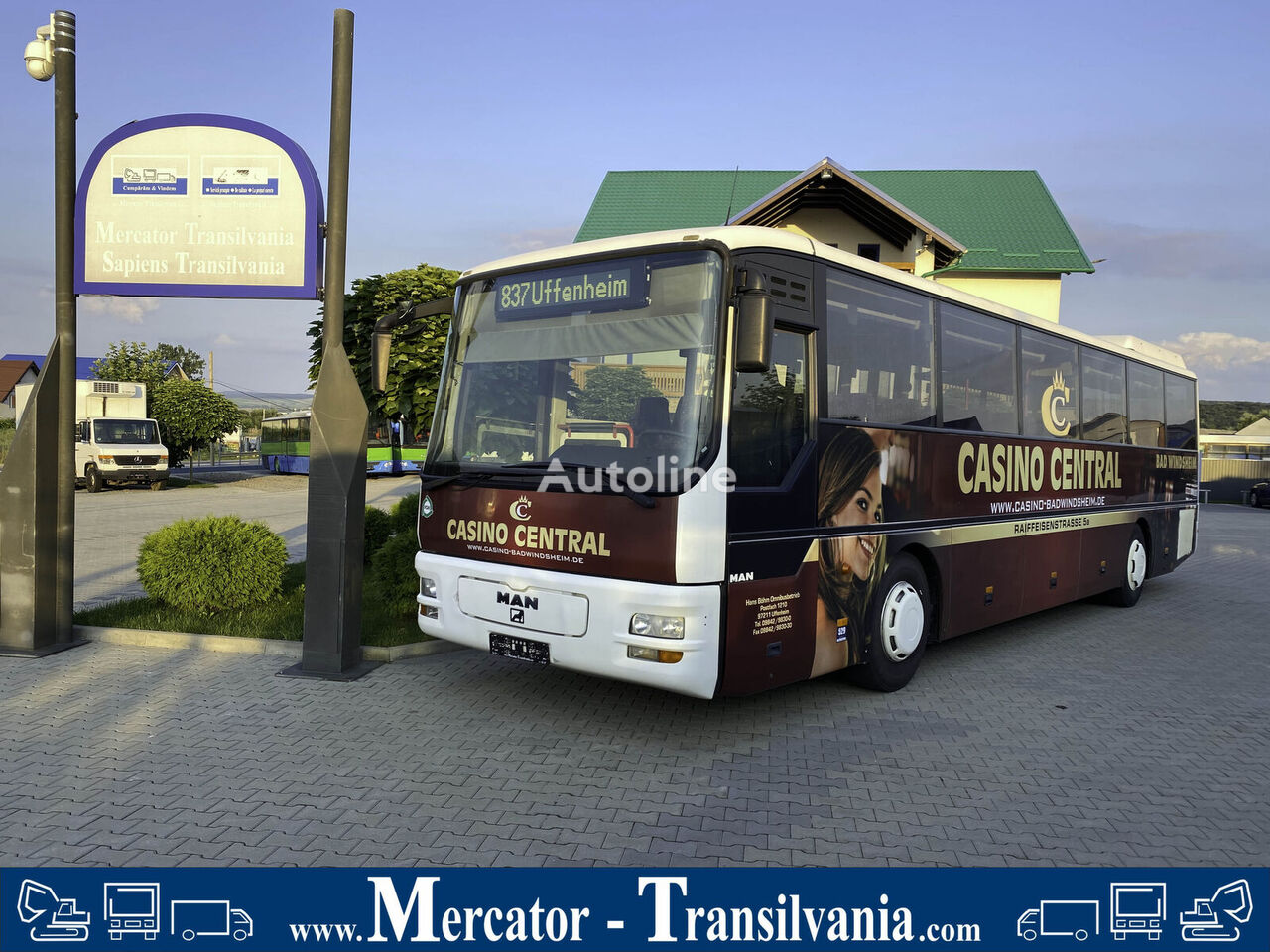 MAN A 01 interurban bus