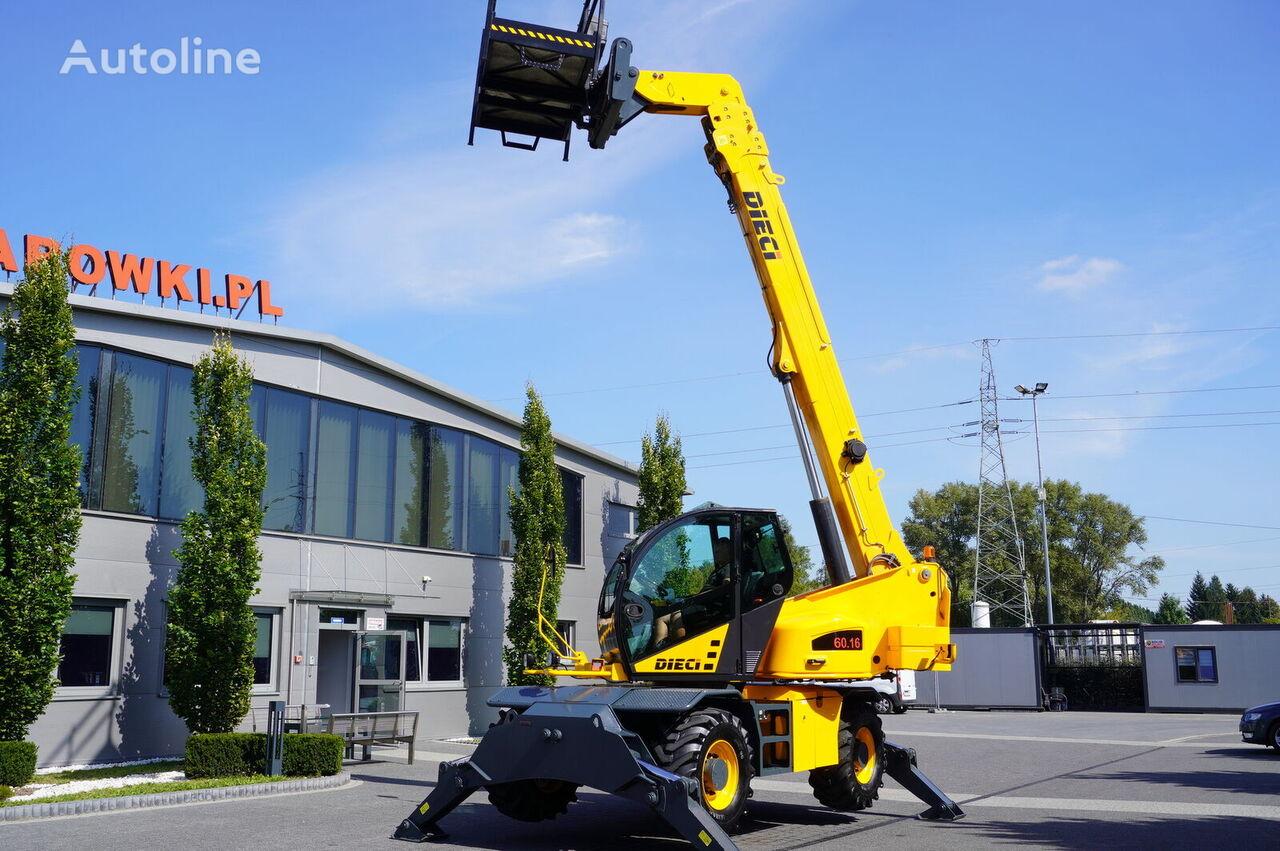 MERLO ROTO  60.16 / 4x4x4 / max 6,000kg - 15,7m + basket telehandler