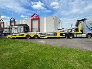 Aksoylu autotransporter car transporter 6 car 2 winch car transporter semi-trailer