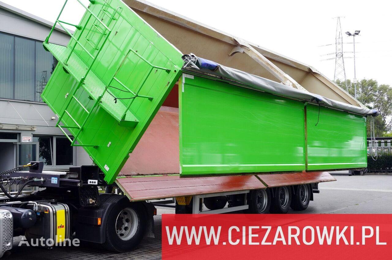 CMT W25-50 , hydro-board  tipper semi-trailer