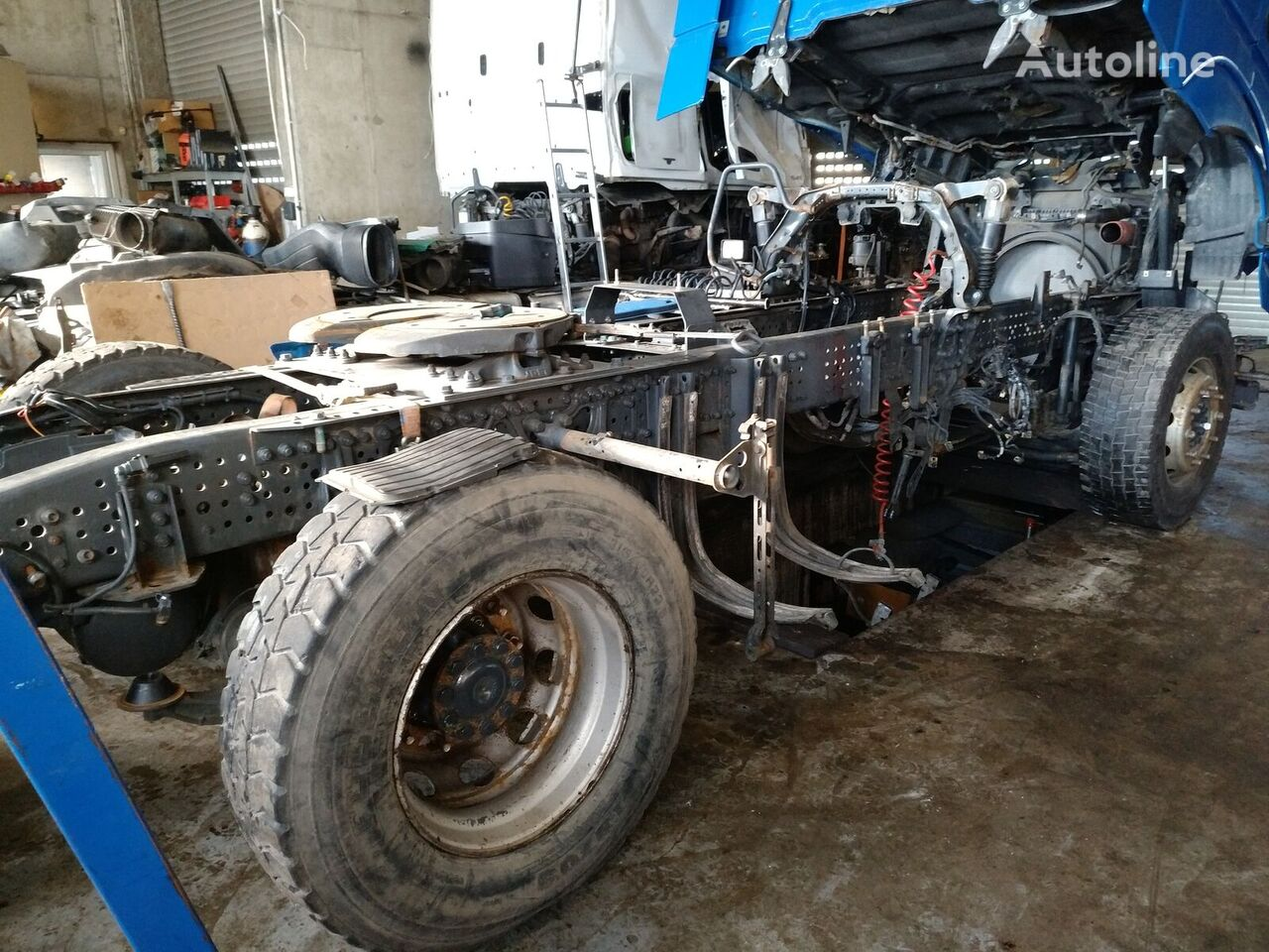 chassis for MERCEDES-BENZ Actros MP4 truck