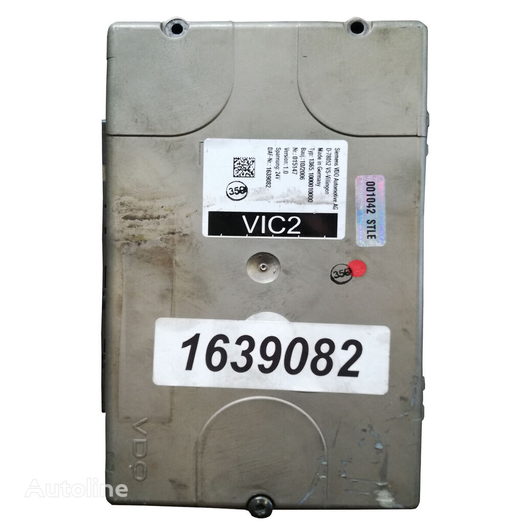 VIC 2 Euro 5 XF 105 / CF 85 1.0, 1.1 control unit for DAF XF 105 tractor unit
