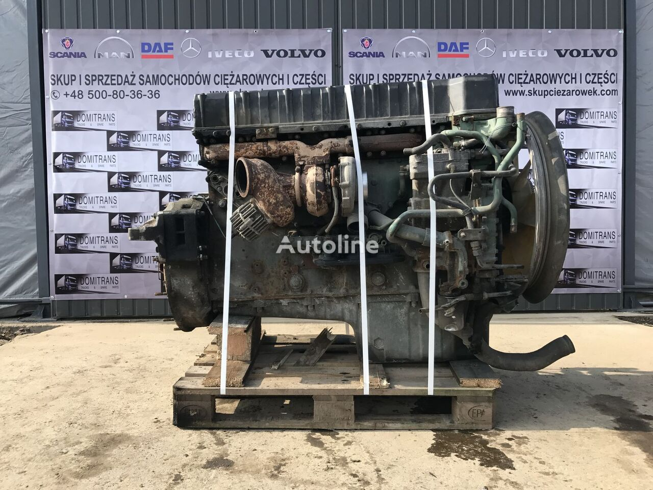 D12D 380/420/460 engine for VOLVO tractor unit