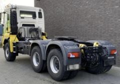 damaged MAN TGS 33.500 BBS tractor unit