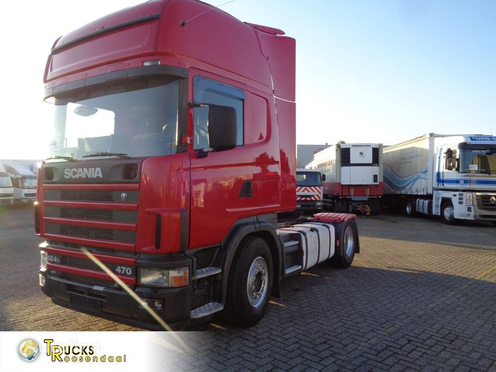 SCANIA R470 124L + Airco + Spoilers tractor unit