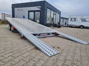 new LOHR GRAVITY M400 + BL Plattformanhänger mit zGM KIPPBAR  car transporter trailer