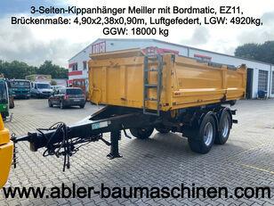 MEILLER 3-Seiten-Kippanhänger mit Bordmatic dump trailer
