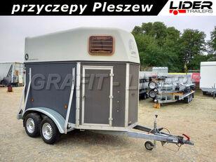 Blomert PU-012 używana przyczepa do przewozu 2 koni 310x165x230cm, BLOME horse trailer
