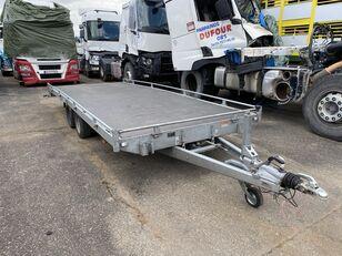 damaged SARIS C3500 low loader trailer