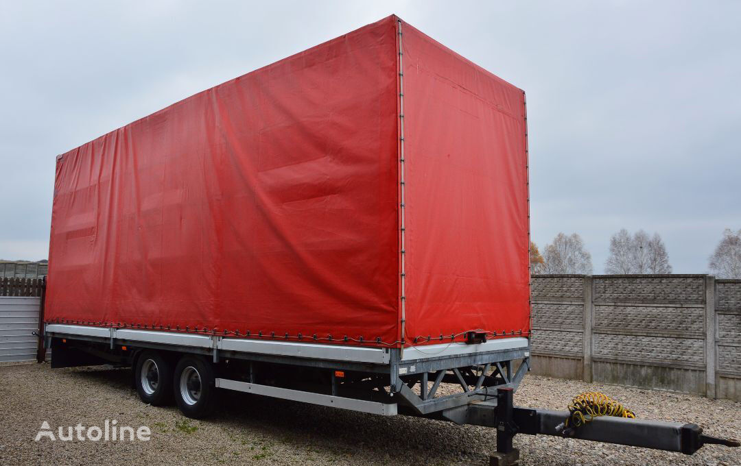 SAM TRAILER TARPAULIN CURTAIN 6.6 T tilt trailer