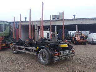 KRONE AZW 18. BDF timber trailer