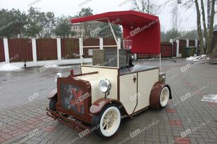 new BMgrupa stand w stylu retro, stoisko gastronomiczne, catering trailers vending trailer