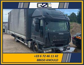 damaged IVECO EUROCARGO 75E18 *ACCIDENTE*DAMAGED*UNFALL* box truck