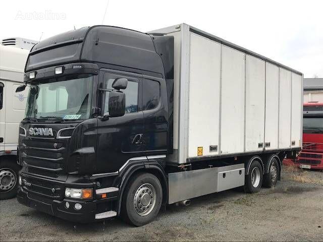 SCANIA R 620 box truck