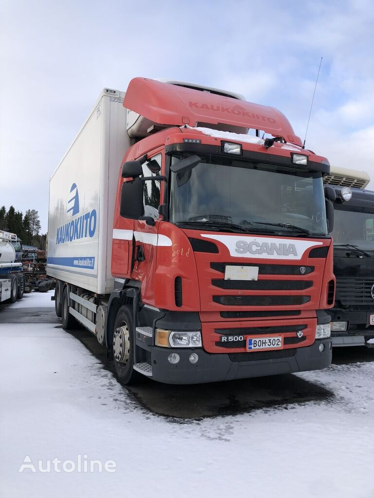SCANIA R500 box truck