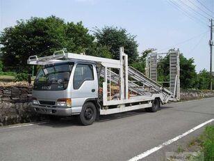 ISUZU Elf car transporter