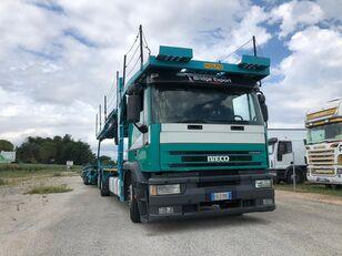 IVECO EUROTECH bisarca veicoli + biga Rolfo car transporter
