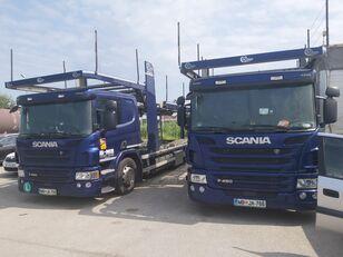 SCANIA P450 car transporter + car transporter trailer