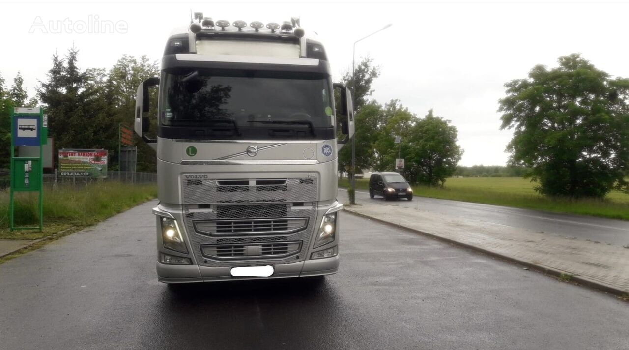 VOLVO FH 500 + LOHR car transporter