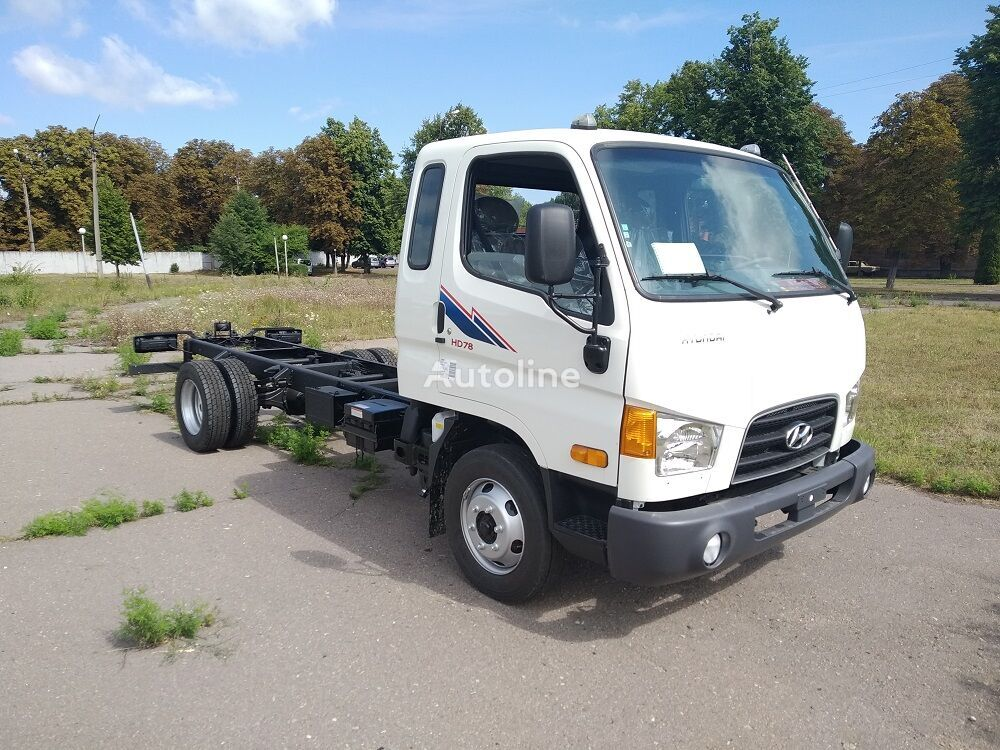 new HYUNDAI HD-78 chassis truck