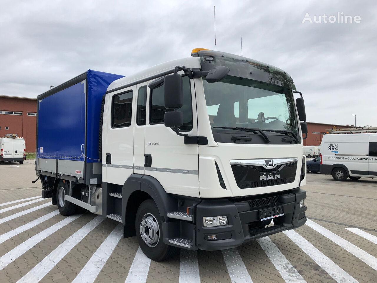 new MAN TGL 12.190, 3 UNITS  chassis truck