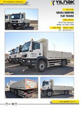 MAN  TGS 4X4 VE 6X6 ARAÇLAR chassis truck