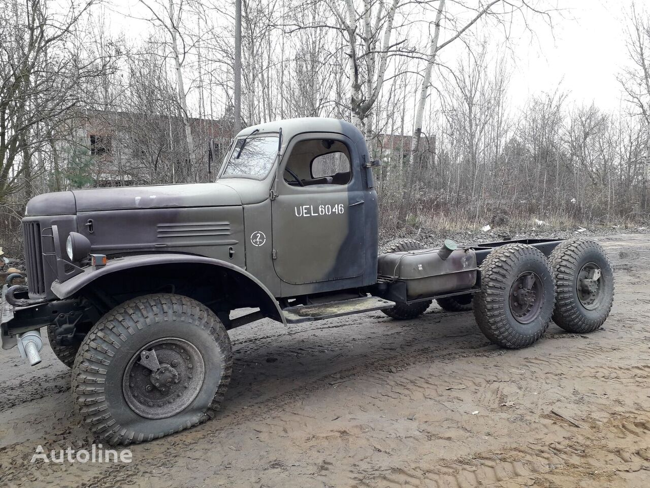 ZIL 157  chassis truck