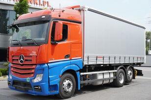 MERCEDES-BENZ ACTROS 2542 E6, 6x2, Frame 7.2 m, BDF, Curtain 18 EPAL, height 2 curtainsider truck