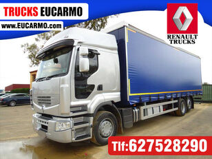 RENAULT PREMIUN 460 DXI curtainsider truck