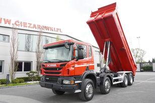 SCANIA P400 , E5 , 8x4/4 , NEW MODEL , tipper 18m3 , manual , low cab  dump truck