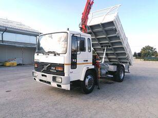 VOLVO FL614 K Ribaltabile + Gru 140 qli dump truck