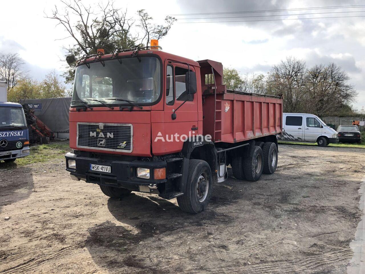 MAN 28.422 dump truck