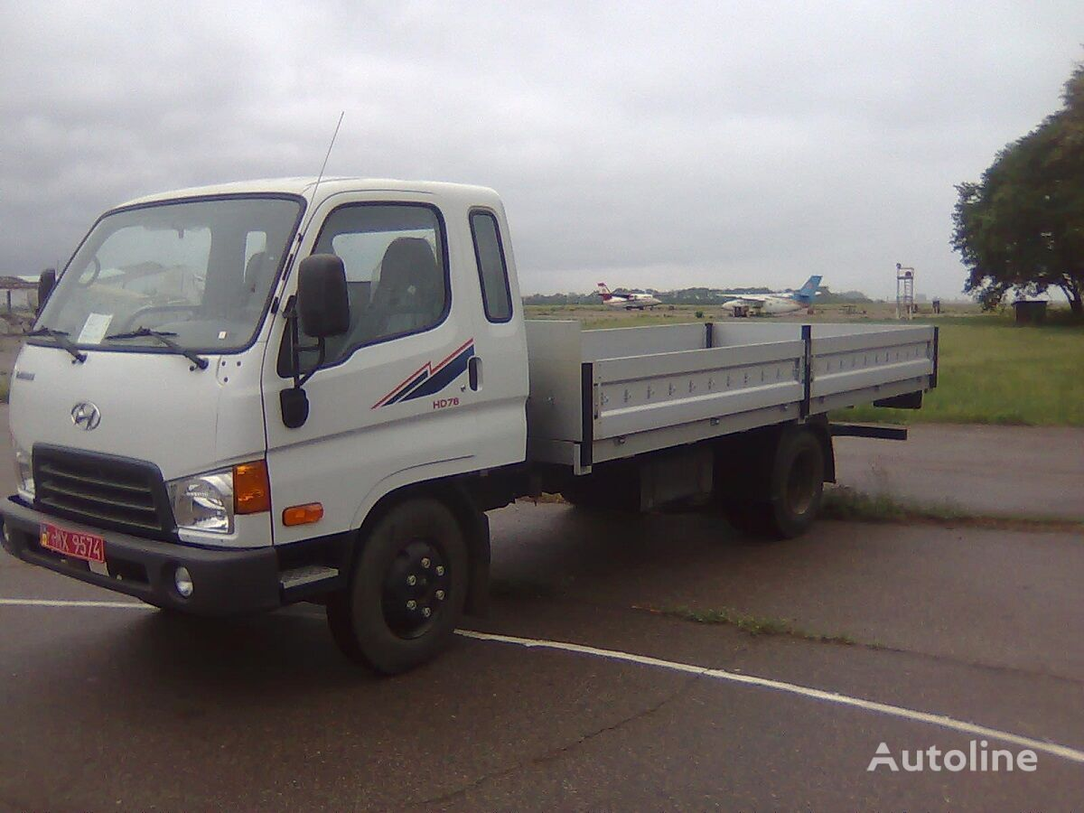 new HYUNDAI HD-78 flatbed truck