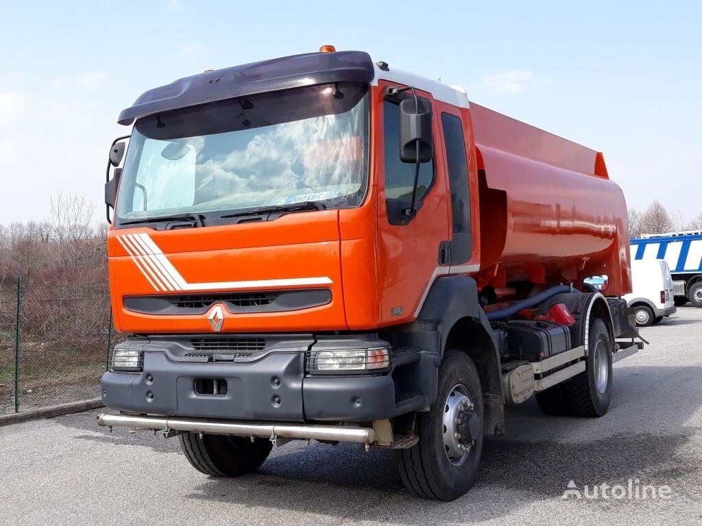 RENAULT 370dci 4X4 fuel truck