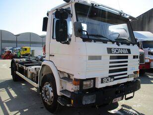 SCANIA 93 hook lift truck